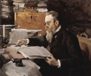 portrait by Valentin Serov (1898)