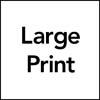 Large Print Icon