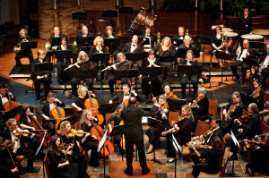 The Bloomington Symphony Orchestra Photo by Leslie Plesser