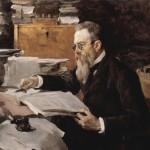 portrait by Valentin Serov (1898)