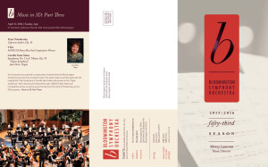 BSO 2015-16 Mailer Front