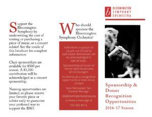 2016-17 Fundraising Brochure - OUTSIDE