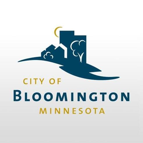 Two color logo of the City of Bloomington, Minnesota